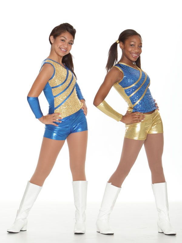Cheap drill team dresses