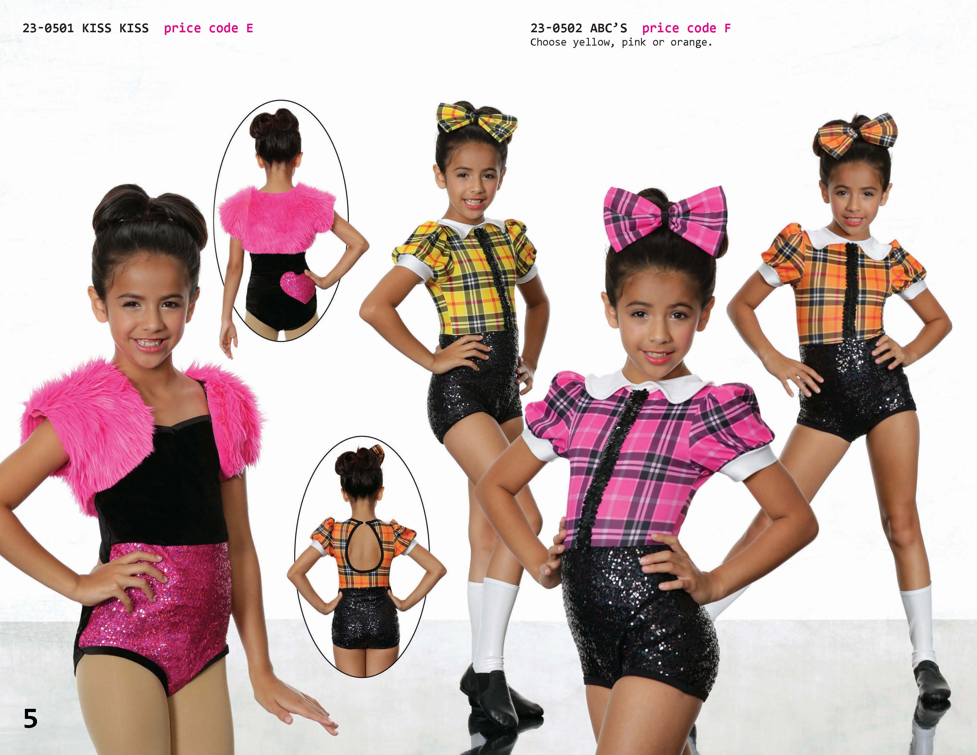 Georgie Girl - Dance Costumes - Catalog 2016
