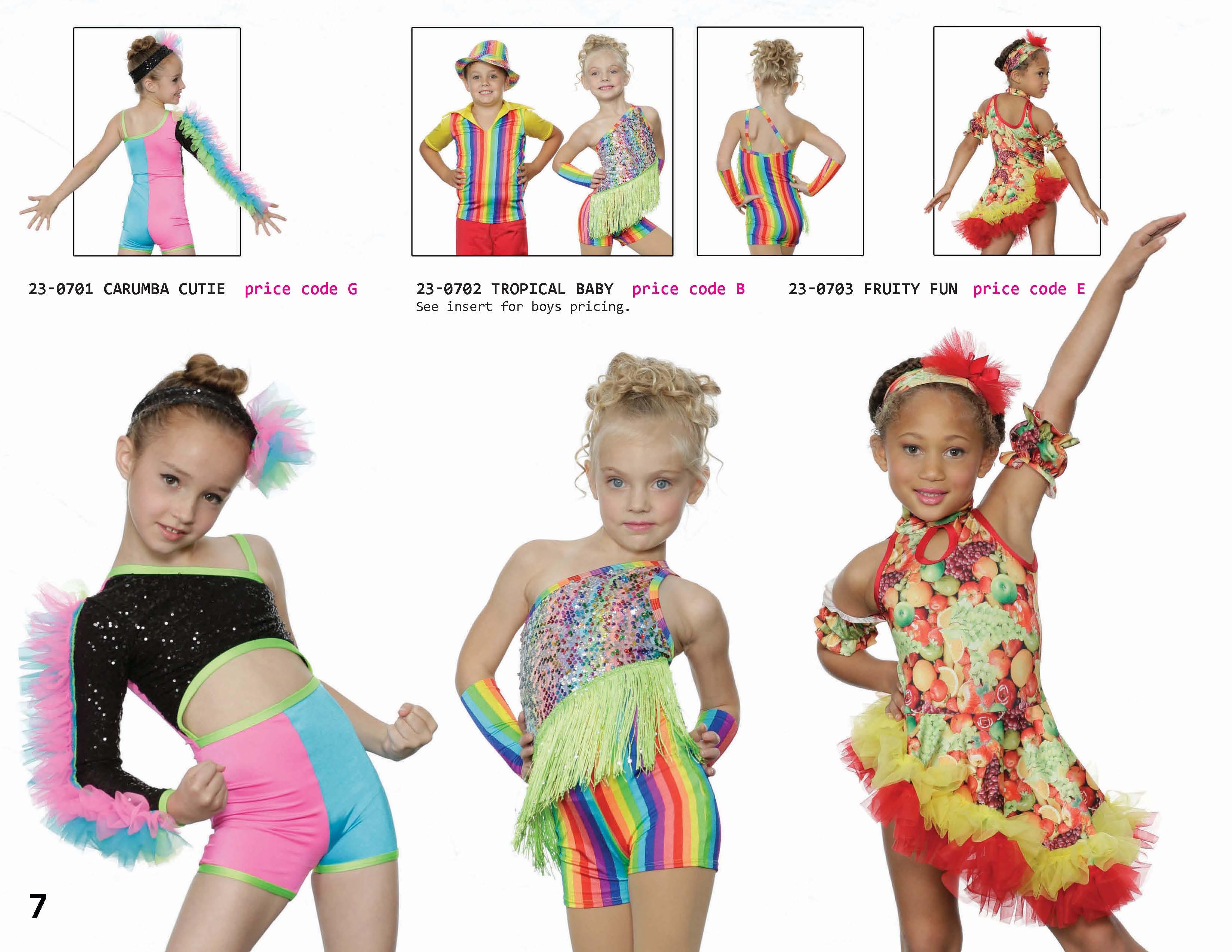 960b7d893531 latin jazz rainbow character recital costume animal print ...