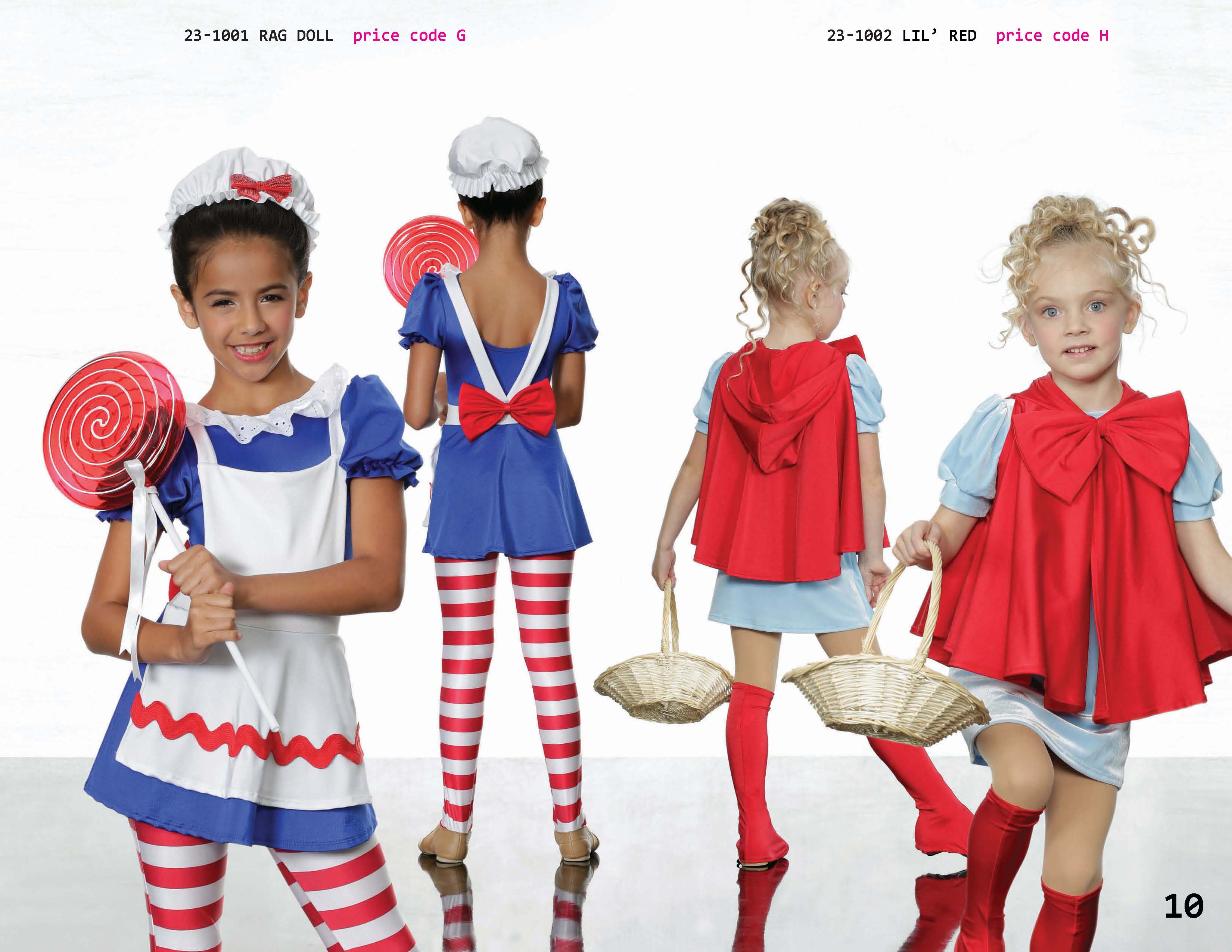 0f1f7c6ca469 ... Rag doll candy cane charactor little red riding hood dance recital  costume