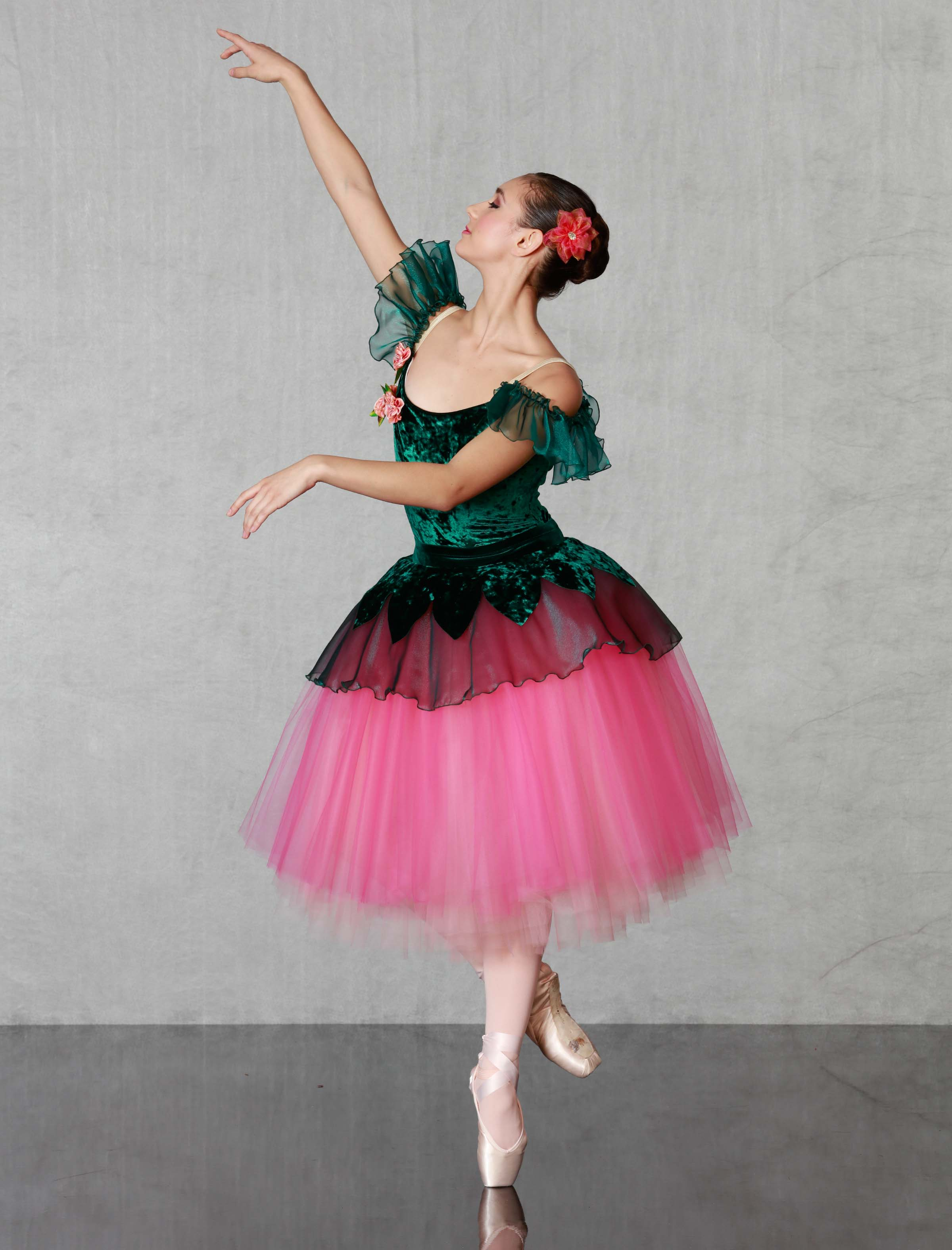 Georgie Girl Costumes Nutcracker Flower Fancy