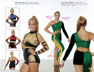 Colorguard Team uniform