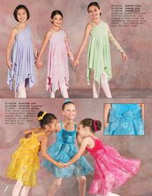 Lyrical dance costume lilac mint pink, Ballet recital dress pink turqoise yellow